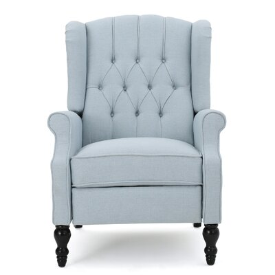 Henley Recliner Upholstery: Light Sky