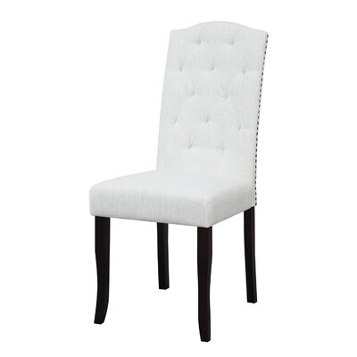 Murray Dining Chair Upholstery: Sand Linen