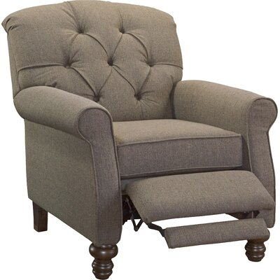 Murray Hill Williamsport Manual Recliner Upholstery: Softie Ash