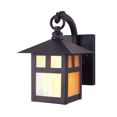 Giles 1-Light Outdoor Wall Lantern