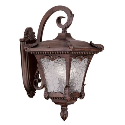 Futrell 3-Light Outdoor Wall Lantern Finish: Imperial Bronze