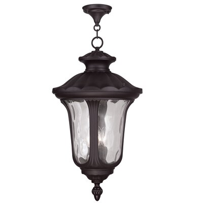 Gurnee Aluminum 3-Light Foyer Pendant Finish: Bronze