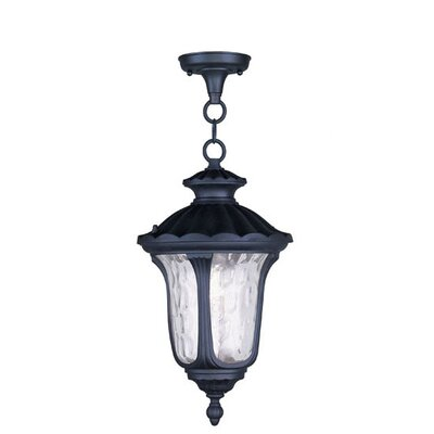 Gurnee 3-Light Foyer Pendant Size: 17.5 H x 9.5 W, Finish: Black