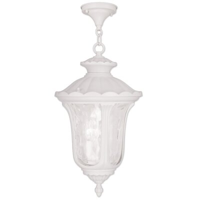 Gurnee 3-Light Foyer Pendant Size: 17.5 H x 9.5 W, Finish: White