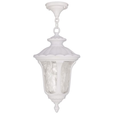 Gurnee 3-Light Foyer Pendant Size: 20.5 H x 11 W, Finish: White