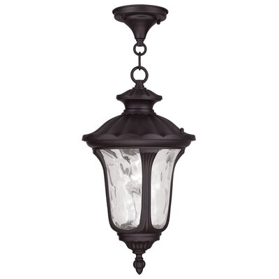 Gurnee 3-Light Foyer Pendant Size: 20.5 H x 11 W, Finish: Bronze