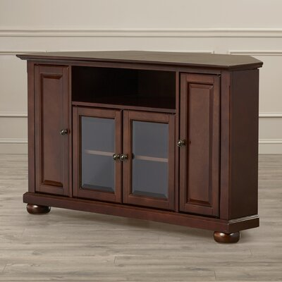 Gambrell Corner 48 TV Stand Color: Vintage Mahogany