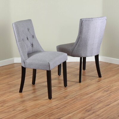 Ganley Parsons Chair Upholstery: Grey