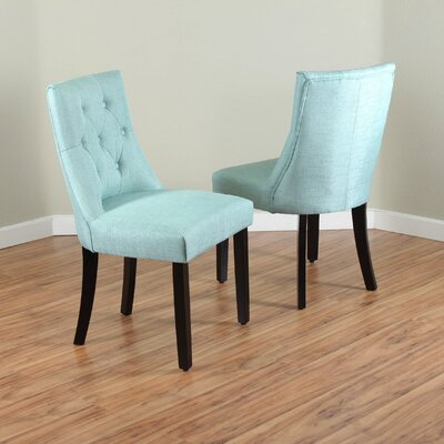 Ganley Side Chair Upholstery: Sea Green