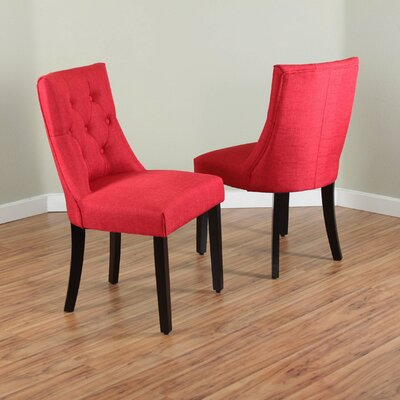 Ganley Side Chair Upholstery: Deep
