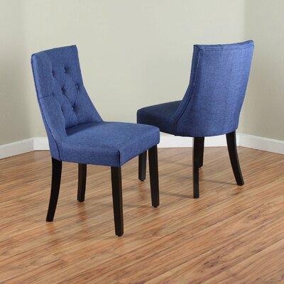 Ganley Side Chair Upholstery: Deep Blue