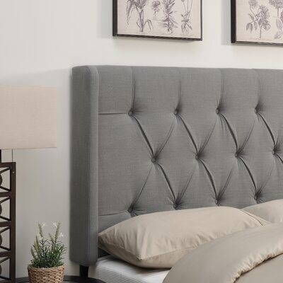 Gardenhire Upholstered Wingback Headboard
