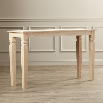 Gaskins Console Table Finish: Unfinished