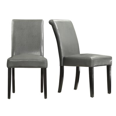 Gault Parsons Chairs Color: Gunmetal Gray