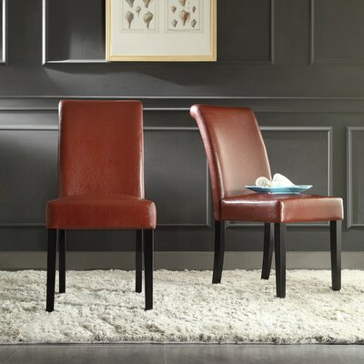 Gault Parsons Chairs Color: Wine Red