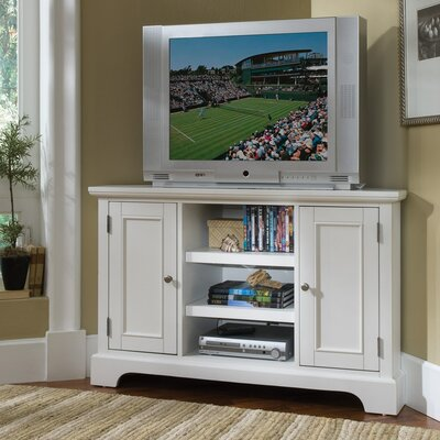 Gaylord Corner TV Stand Finish: White