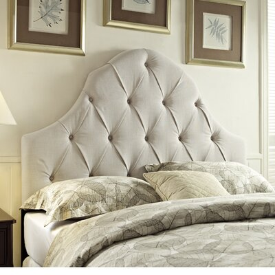 Gerace Upholstered Panel Headboard Size: King/California King