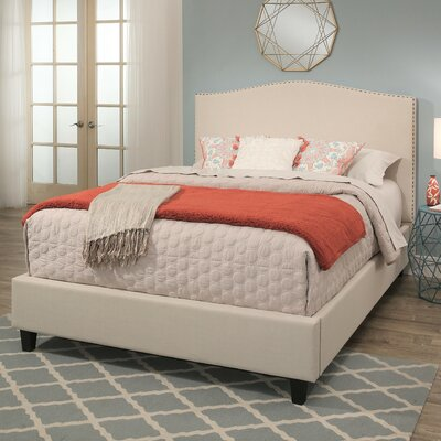 Gibson Upholstered Panel Bed Size: King