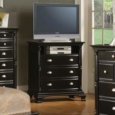 Rochester 3 Drawer Media Chest