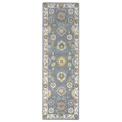 Gillison Hand-Tufted Gray Area Rug Rug Size: Runner 26 x 8