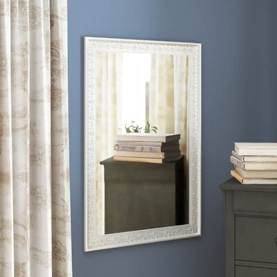 Rectangle Wall Mirror Finish: Champagne