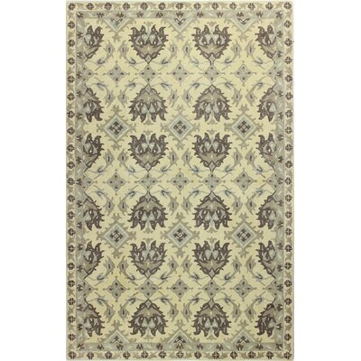Gilmour Hand Tufted Gold Area Rug Rug Size: Rectangle 86 x 116