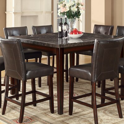 Cincinnati Counter Height Dining Table Finish: Black