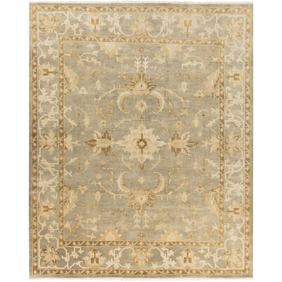 Moline Light Gray/Beige Area Rug Rug Size: Rectangle 8 x 10