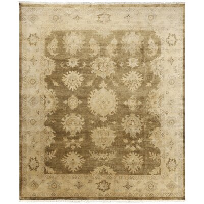 Moline Beige/Gold Rug Rug Size: Rectangle 8 x 10