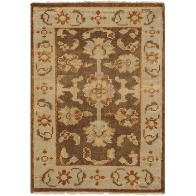 Moffet Mocha Area Rug Rug Size: Rectangle 2' x 3'