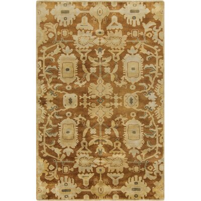 Moffet Gold Area Rug Rug Size: Rectangle 56 x 86