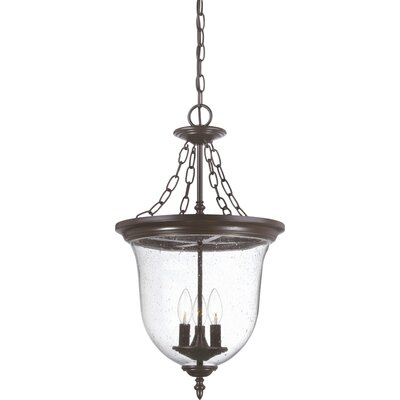 Minden 3-Light Outdoor Pendant Finish: Architectural Bronze