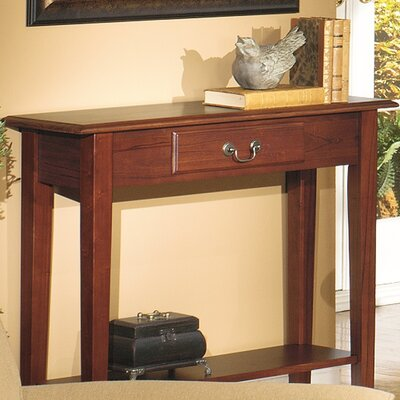 Revere Traditional Console Table Finish: Red Cherry