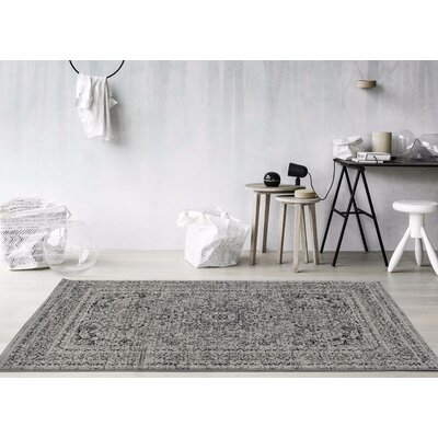 Murphysboro Gray Indoor/Outdoor Area Rug Rug Size: 710 x 106