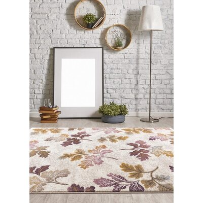 Murphysboro Cream Indoor/Outdoor Area Rug Rug Size: 5 x 7