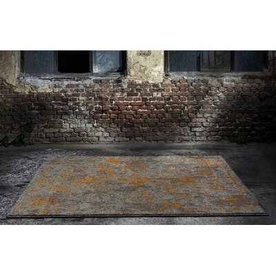 Murphysboro Gray Indoor/Outdoor Area Rug Rug Size: 52 x 72
