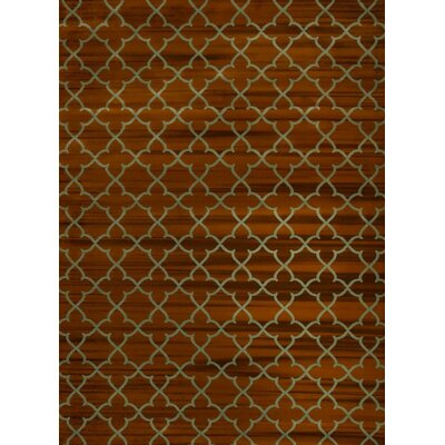 Spaulding Brown/Gray Indoor/Outdoor Area Rug Rug Size: 5 x 7