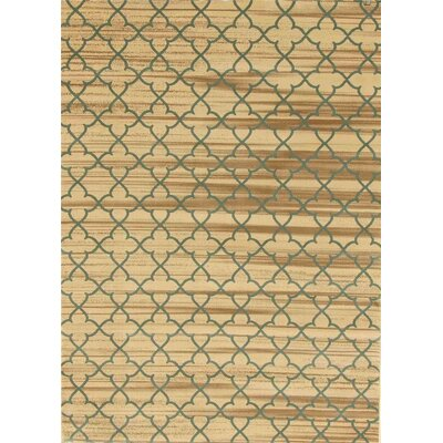 Spaulding Ivory/Gray Indoor/Outdoor Area Rug Rug Size: 5 x 7