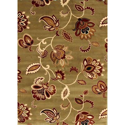 Murphysboro Green Indoor/Outdoor Area Rug Rug Size: 5 x 7