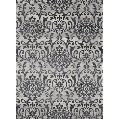Murphysboro Light Gray Indoor/Outdoor Area Rug Rug Size: 8' x 10'