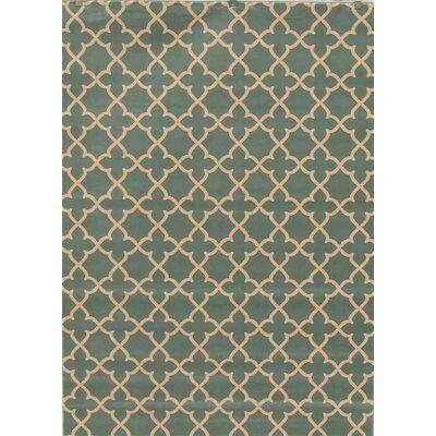 Spaulding Blue Indoor/Outdoor Area Rug Rug Size: 5 x 7