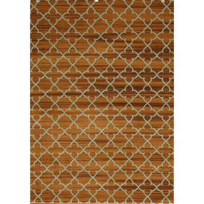 Spaulding Geometric Brown Indoor/Outdoor Area Rug Rug Size: 8 x 10