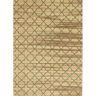 Spaulding Ivory Indoor/Outdoor Area Rug Rug Size: 2 x 3