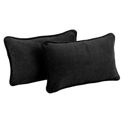 Hargreaves Lumbar Pillow Color: Black