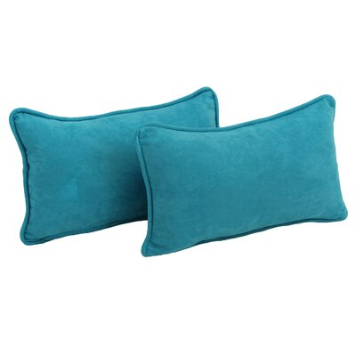 Hargreaves Lumbar Pillow Color: Aqua Blue