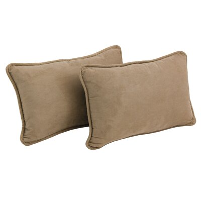 Hargreaves Lumbar Pillow Color: Java