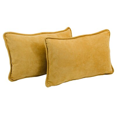 Hargreaves Lumbar Pillow Color: Lemon