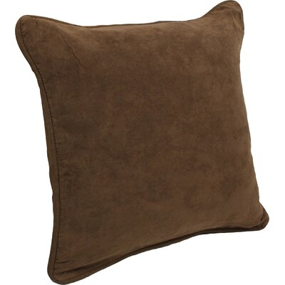 Hargreaves Corded Throw Pillow Color: Chocolate