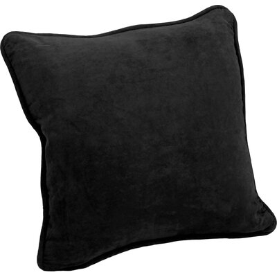 Hargreaves Corded Throw Pillow Color: Black