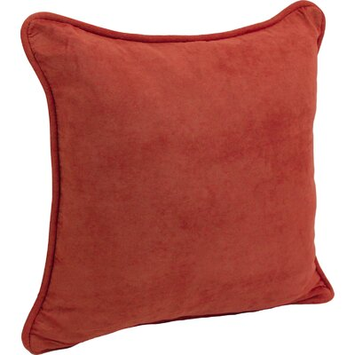 Hargreaves Corded Throw Pillow Color: Cardinal Red